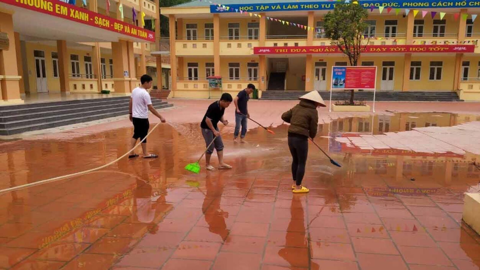 Đảm bảo các điều kiện an toàn để học sinh Quảng Ninh quay trở lại trường học