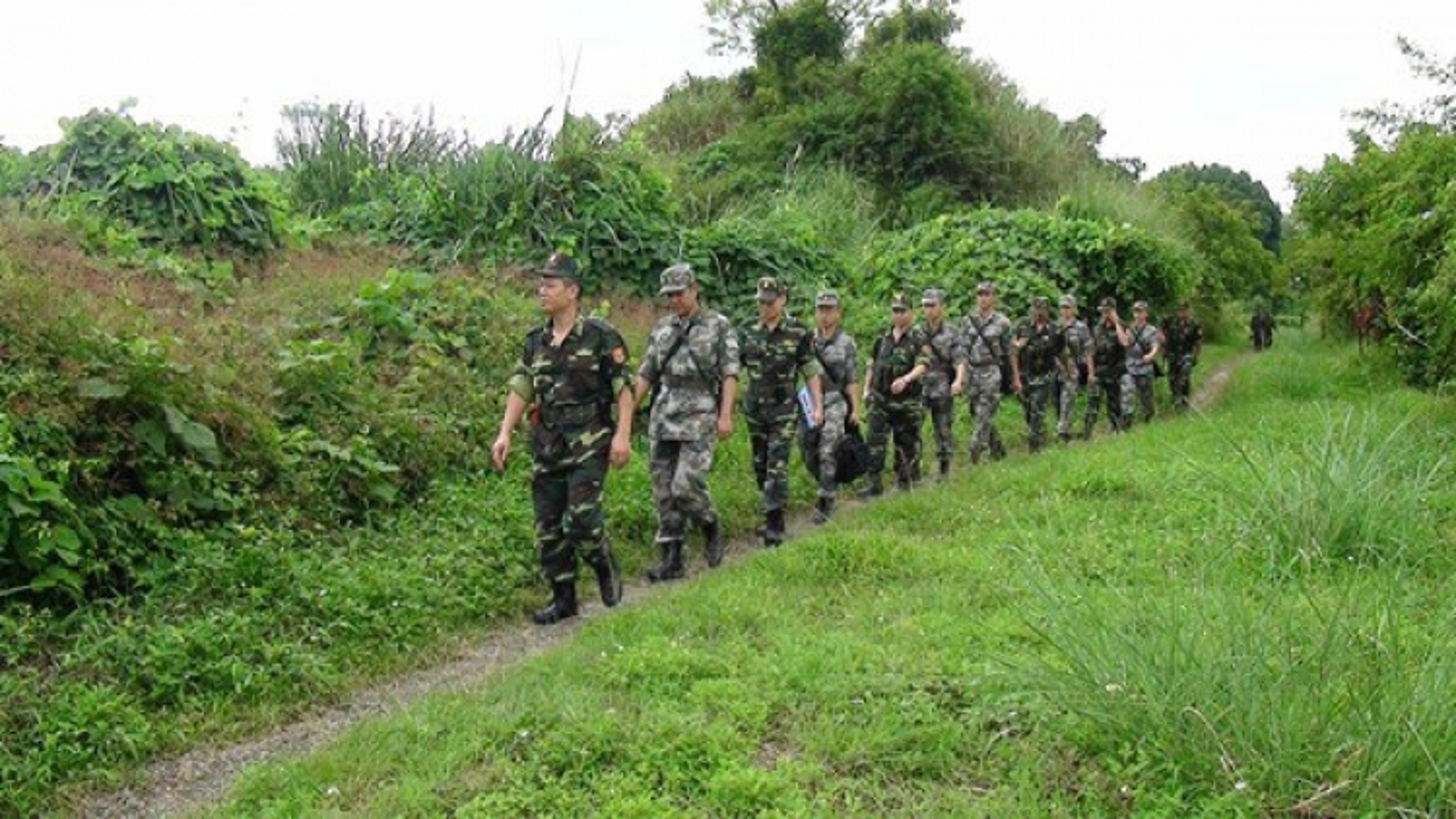 Bộ đội Biên phòng quyết tâm giữ bình yên nơi biên giới trong dịp Tết