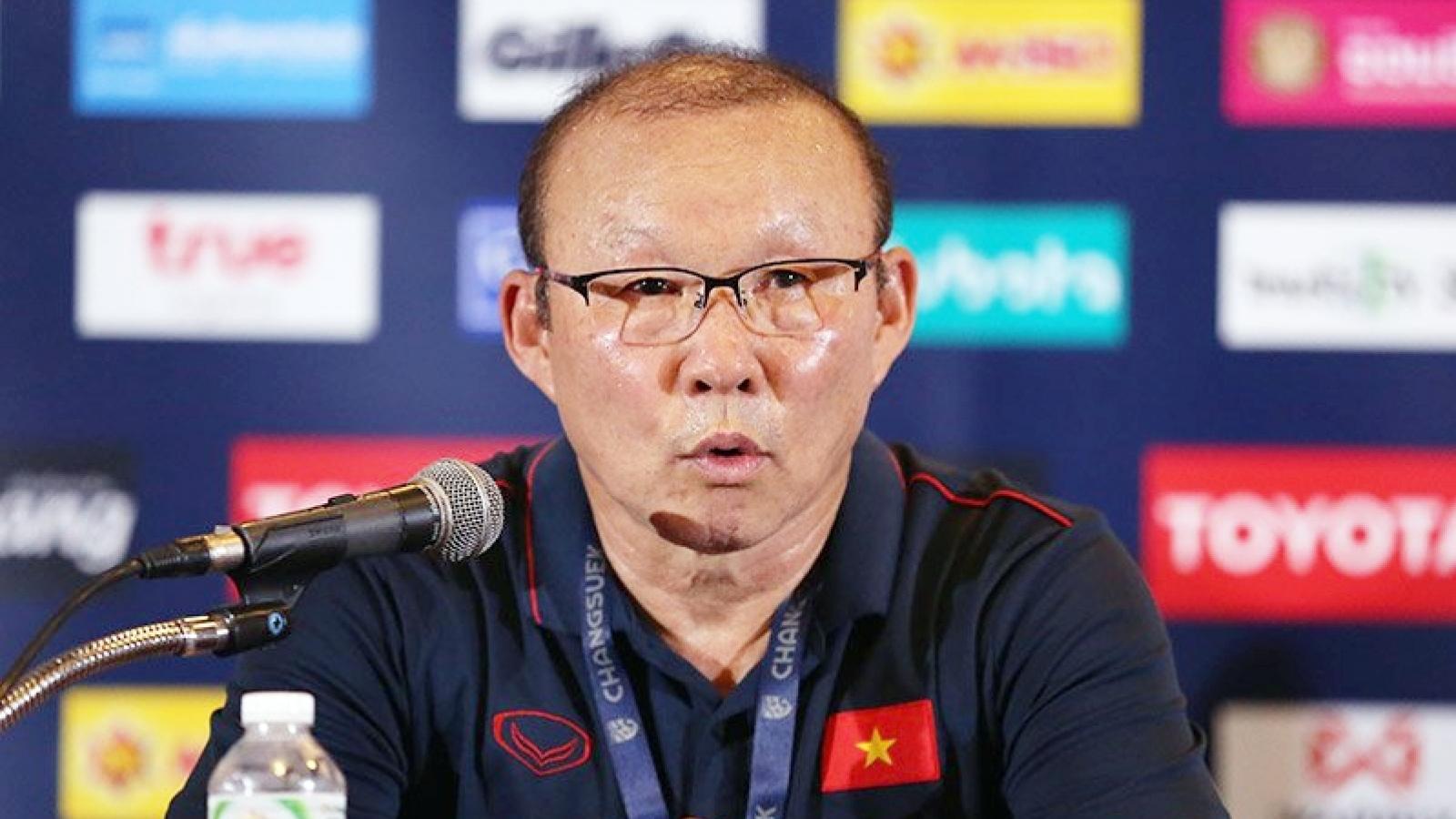 Lãnh đạo VFF bất ngờ nói về hợp đồng của HLV Park Hang Seo