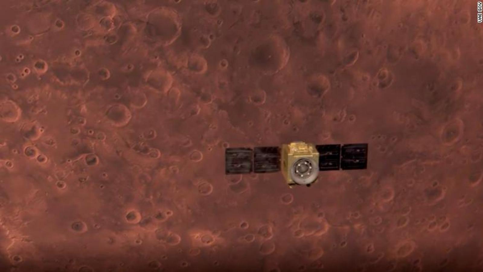 Tàu thăm dò của UAE đã tới quỹ đạo sao Hỏa