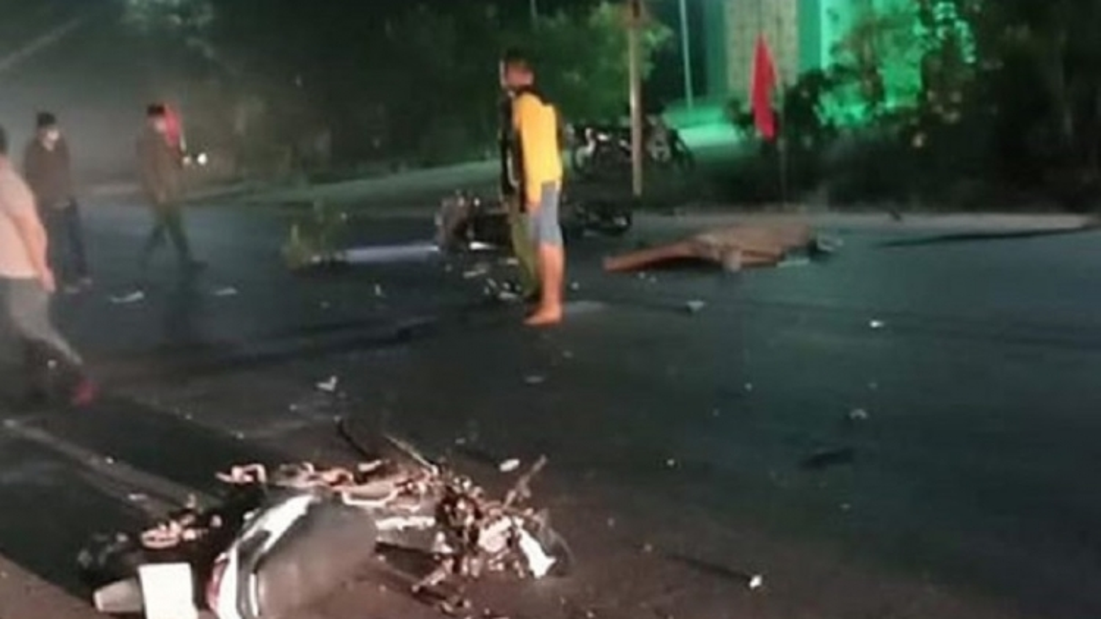 Tai nạn thương tâm khiến 3 người tử vong ở Bình Thuận