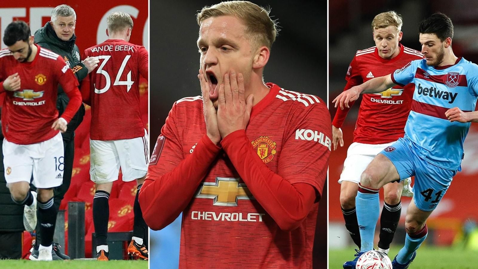 Chấm điểm MU 1-0 West Ham: Van De Beek gây thất vọng tràn trề