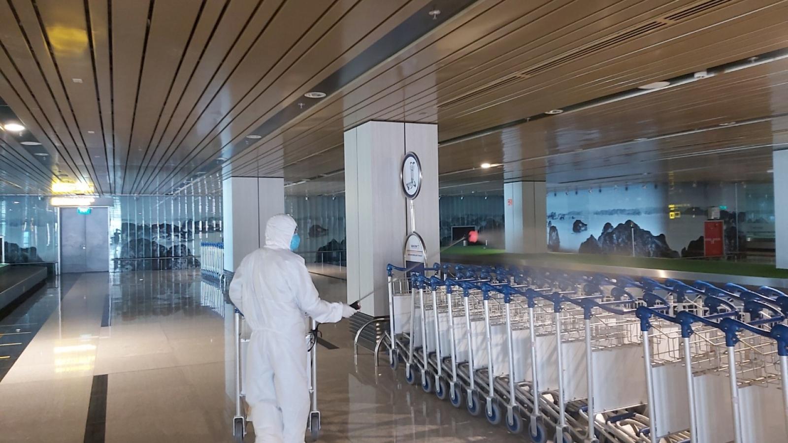100% nhân viên Cảng Hàng không quốc tế Vân Đồn âm tính sau 2 lần xét nghiệm