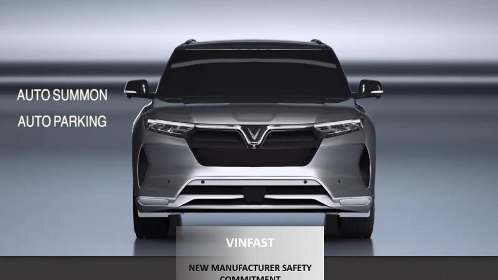 VinFast nhận giải thưởng an toàn ASEAN NCAP 2020