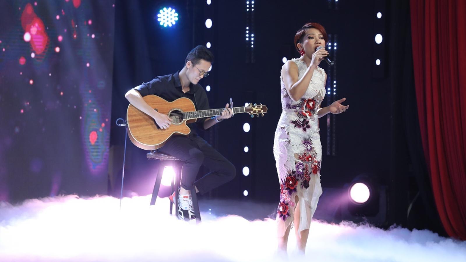 Hà Trần chìm đắm trong cảm xúc với liên khúc của nhạc sĩ Trần Tiến