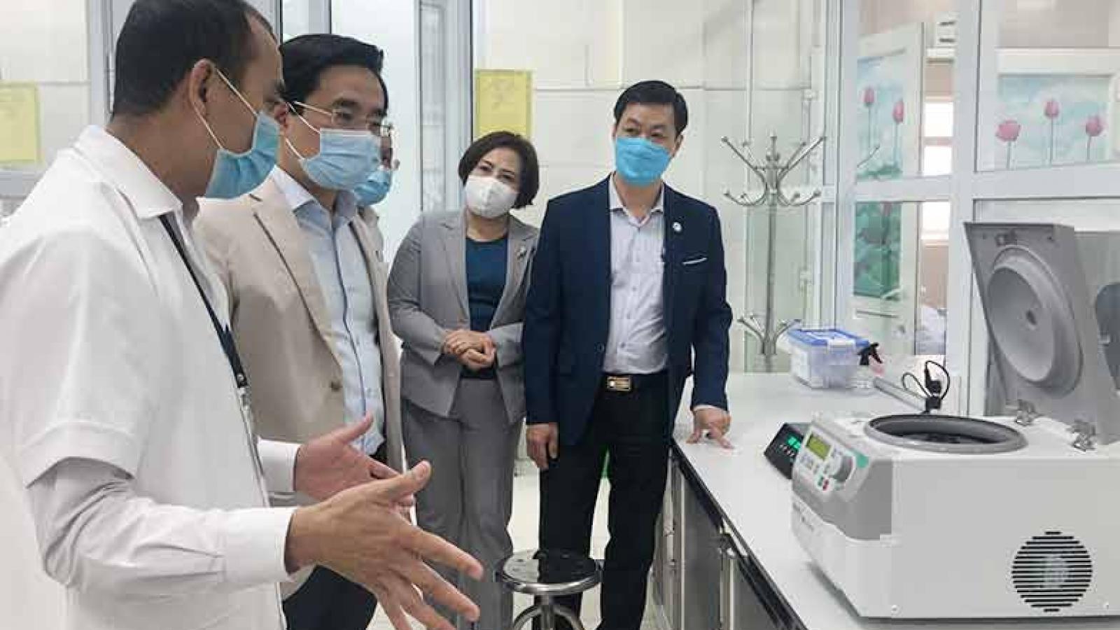 Thành phố Cẩm Phả chủ động đầu tư Phòng xét nghiệm Realtime-PCR