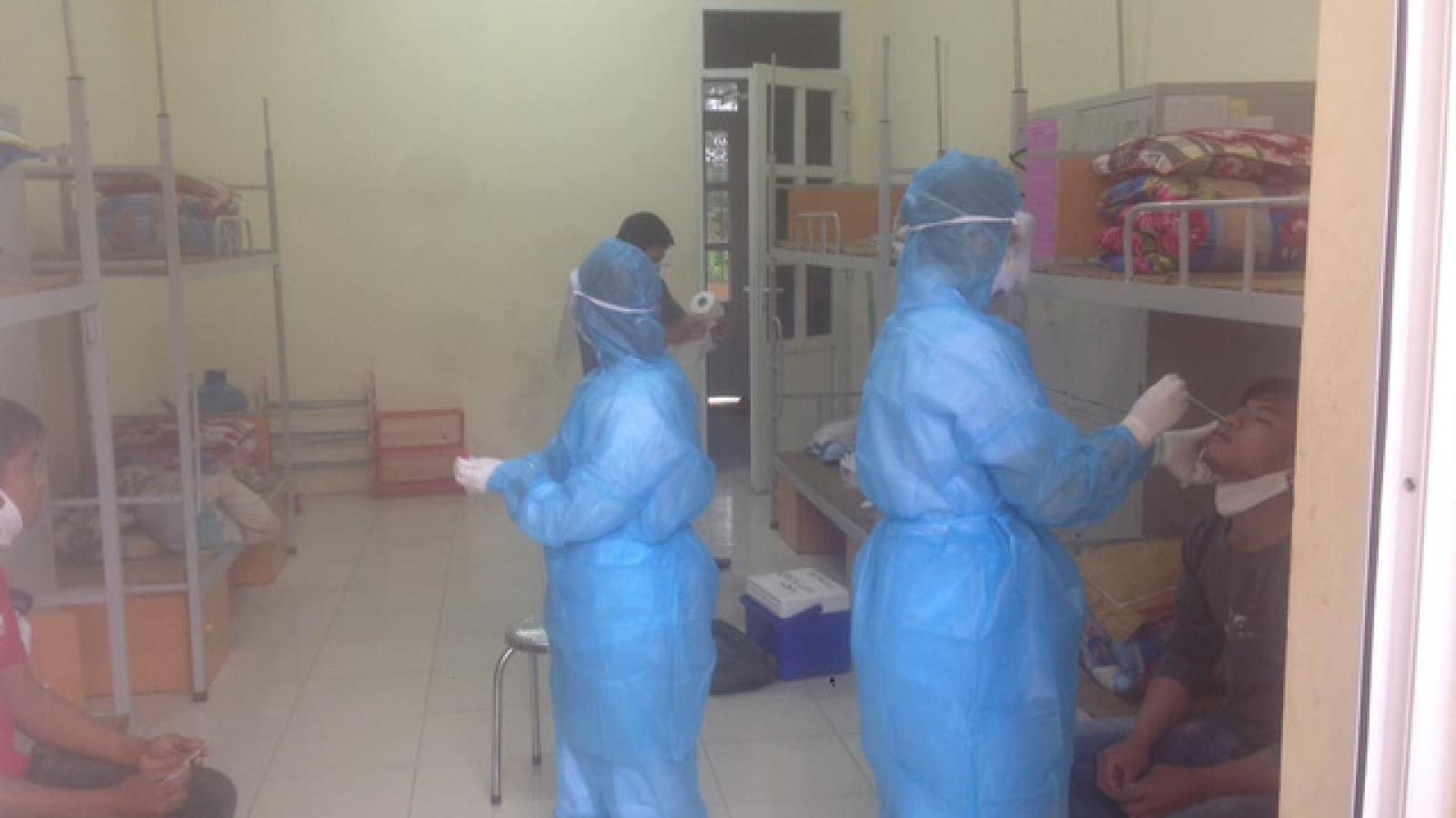 9 trường hợp F1 ở Thanh Hóa có kết quả âm tính lần 1 với virus SARS-CoV- 2