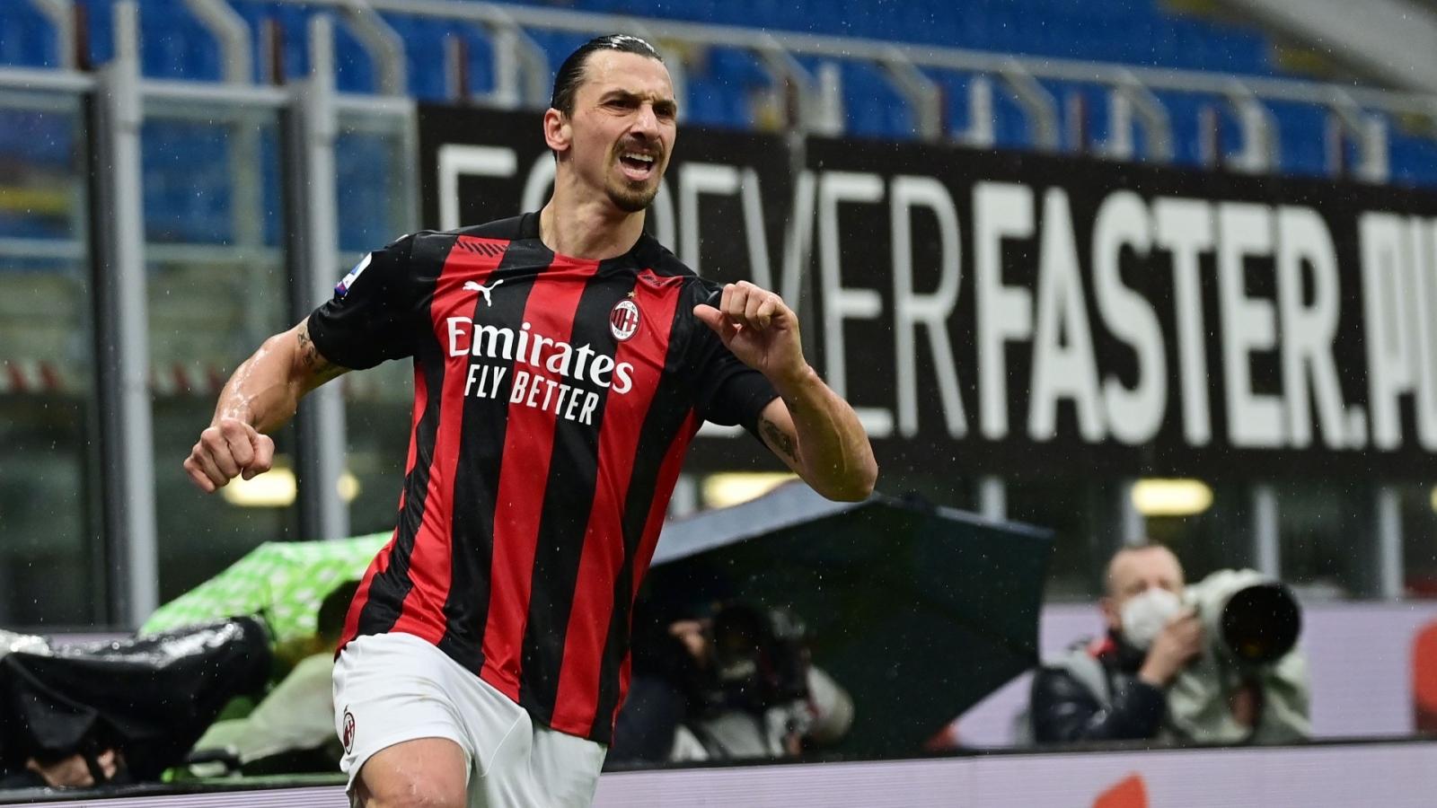 Ibrahimovic vượt mốc 500 bàn ở cấp CLB, Milan trở lại ngôi đầu Serie A