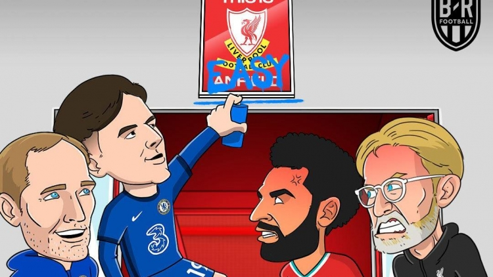 """Biếm họa 24h: Sân Anfield thành """"kho điểm"""" ở Ngoại hạng Anh"""