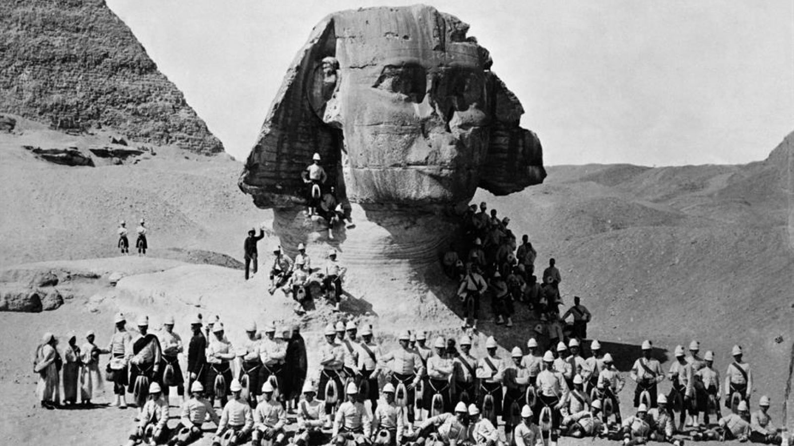 Ngắm nhìn những bức ảnh cổ xưa của các địa danh nổi tiếng trên thế giới