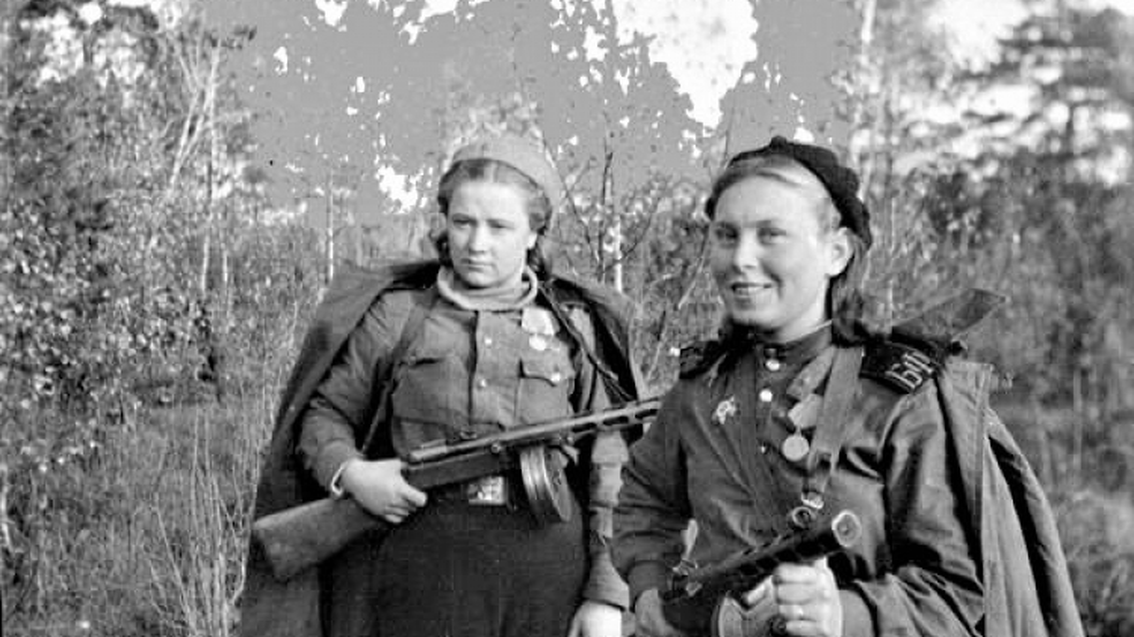Hồng quân Liên Xô từng có đơn vị nữ bộ binh