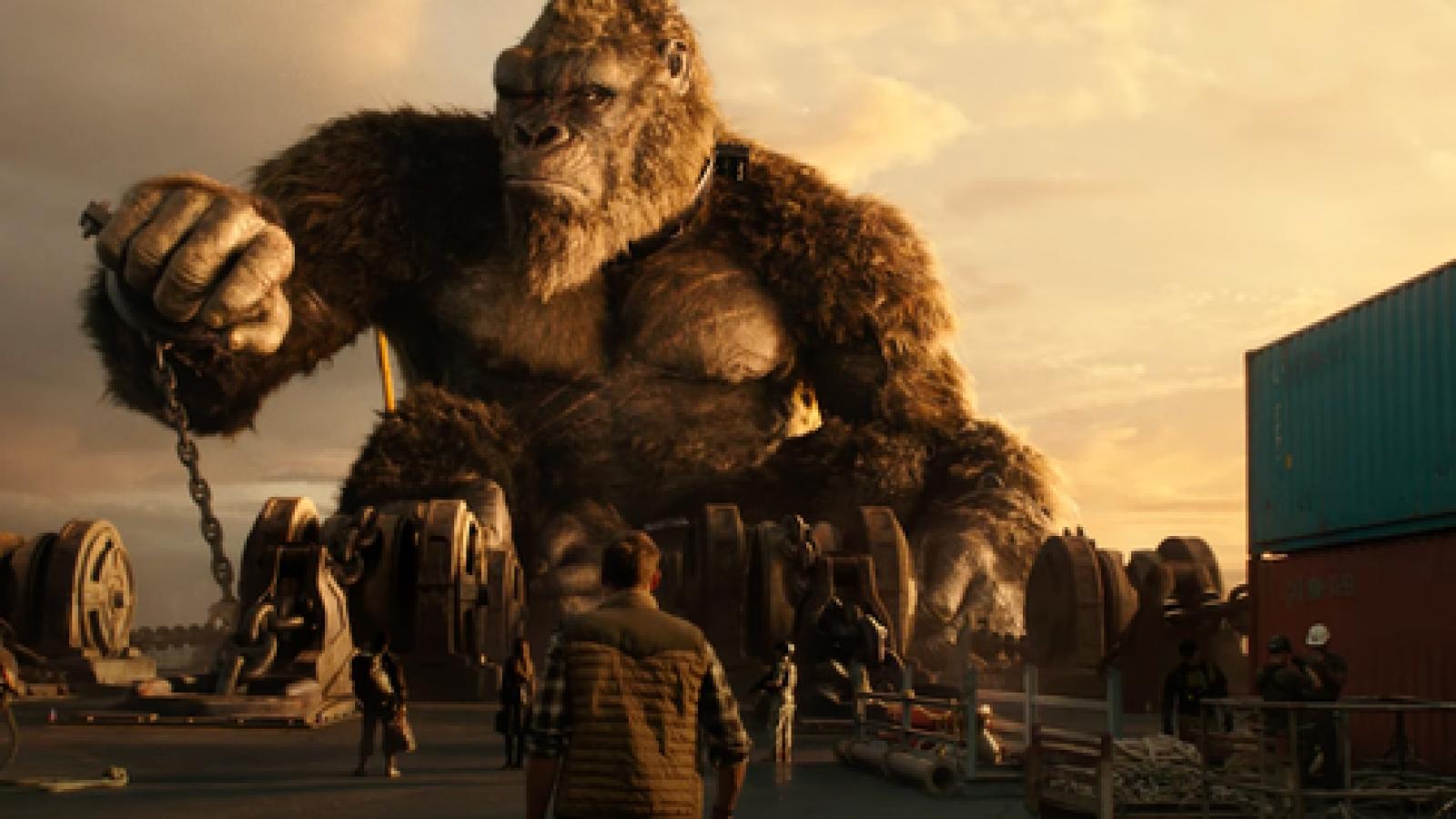 """Những con số ấn tượng trong bom tấn """"Godzilla đại chiến Kong"""""""