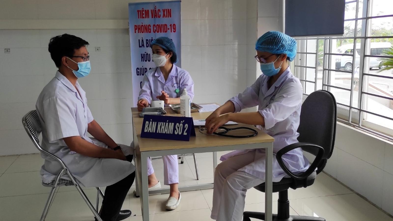 Hải Phòng bắt đầu chiến dịch tiêm vaccine COVID-19 đợt 1