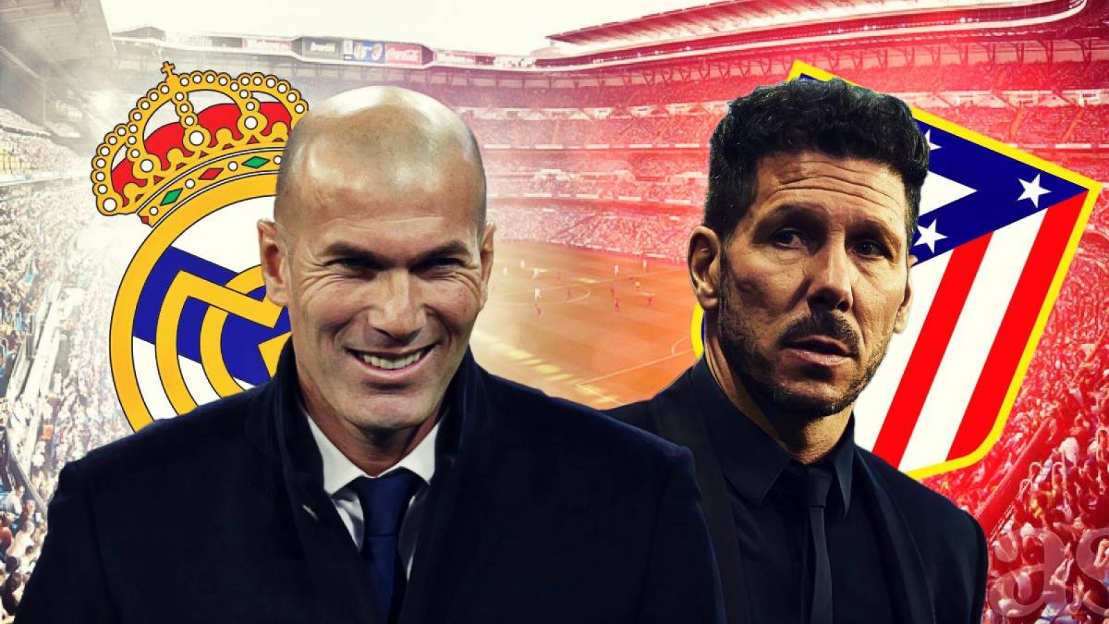 Zidane khéo chơi đòn tâm lý, Real Madrid sẽ thắng Atletico Madrid?