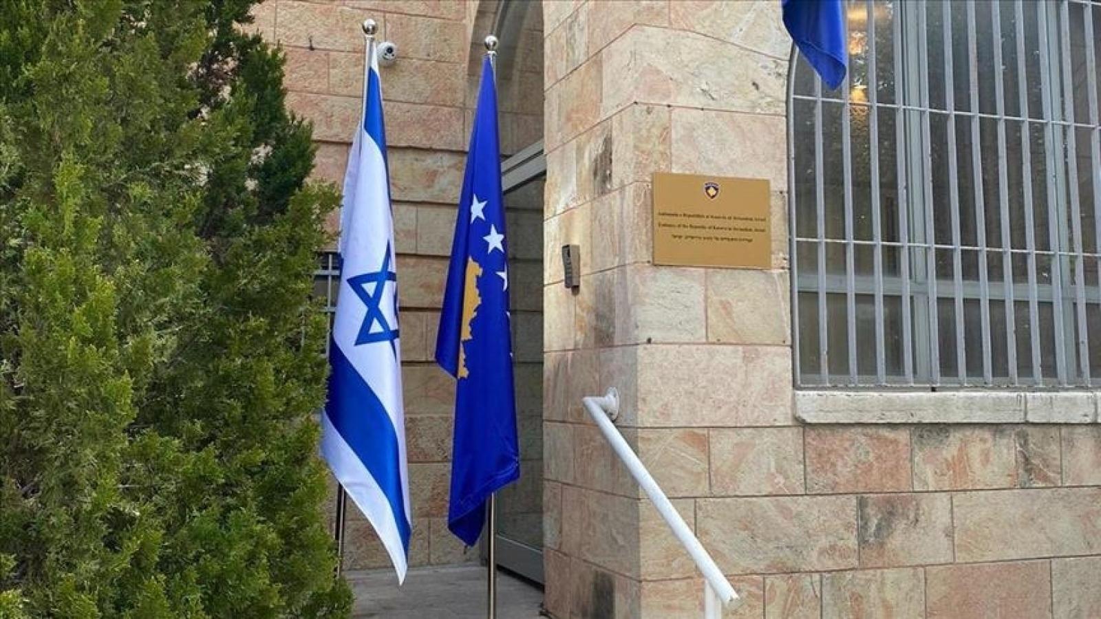 Kosovomở Đại sứ quán tại Jerusalem và dư luận quốc tế