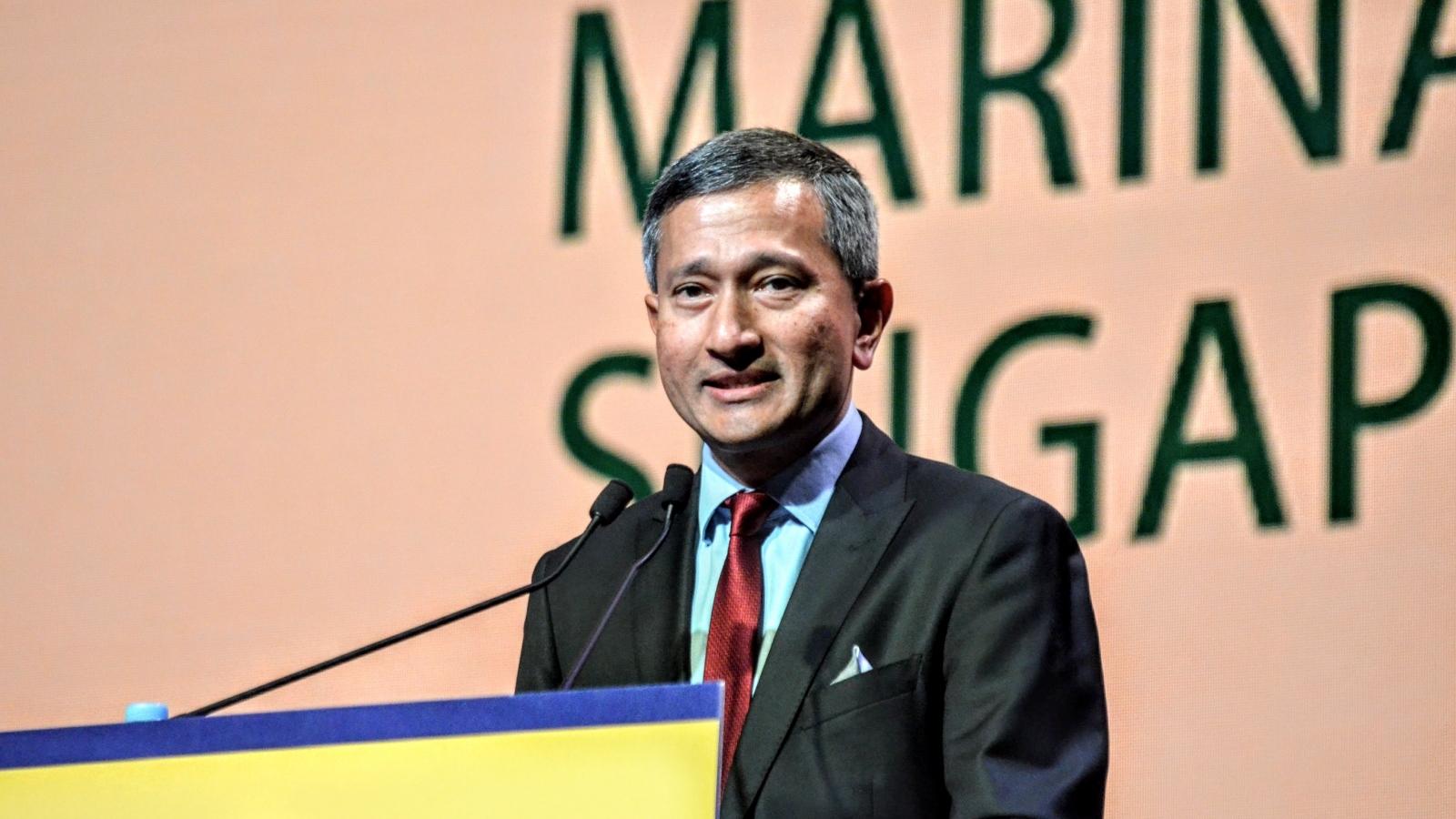 Ngoại trưởng Singapore công du 3 nước Đông Nam Á