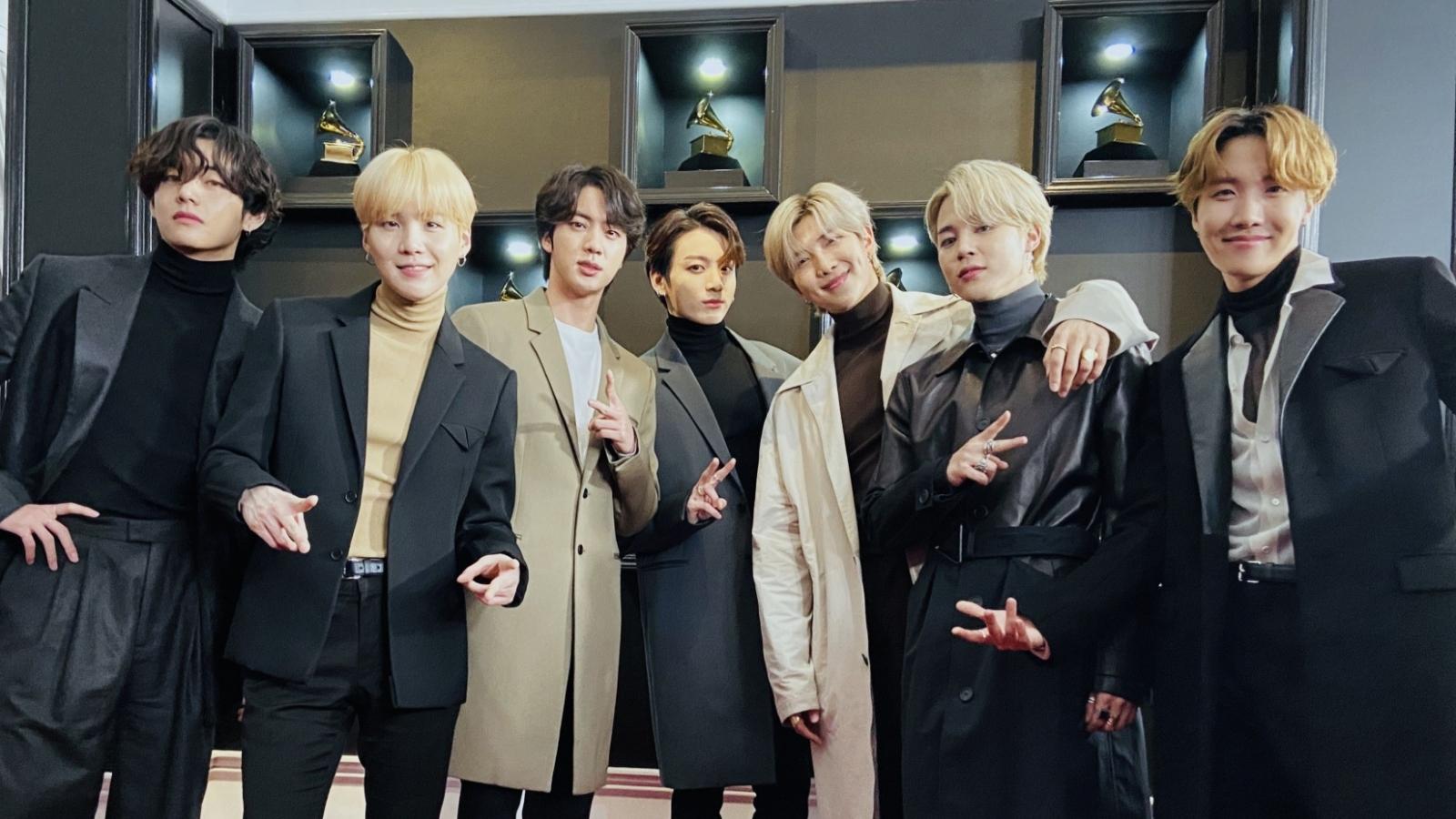 BTS sẽ trình diễn tại lễ trao giải Grammy lần thứ 63