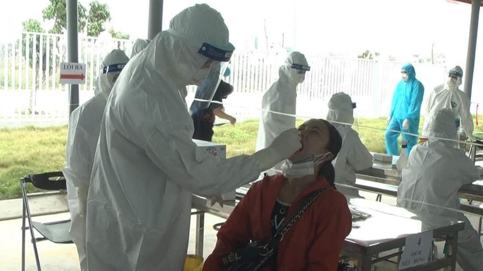Gần 3000 mẫu xét nghiệm tại KCN Cộng Hòa, Hải Dương âm tính với SARS-CoV-2