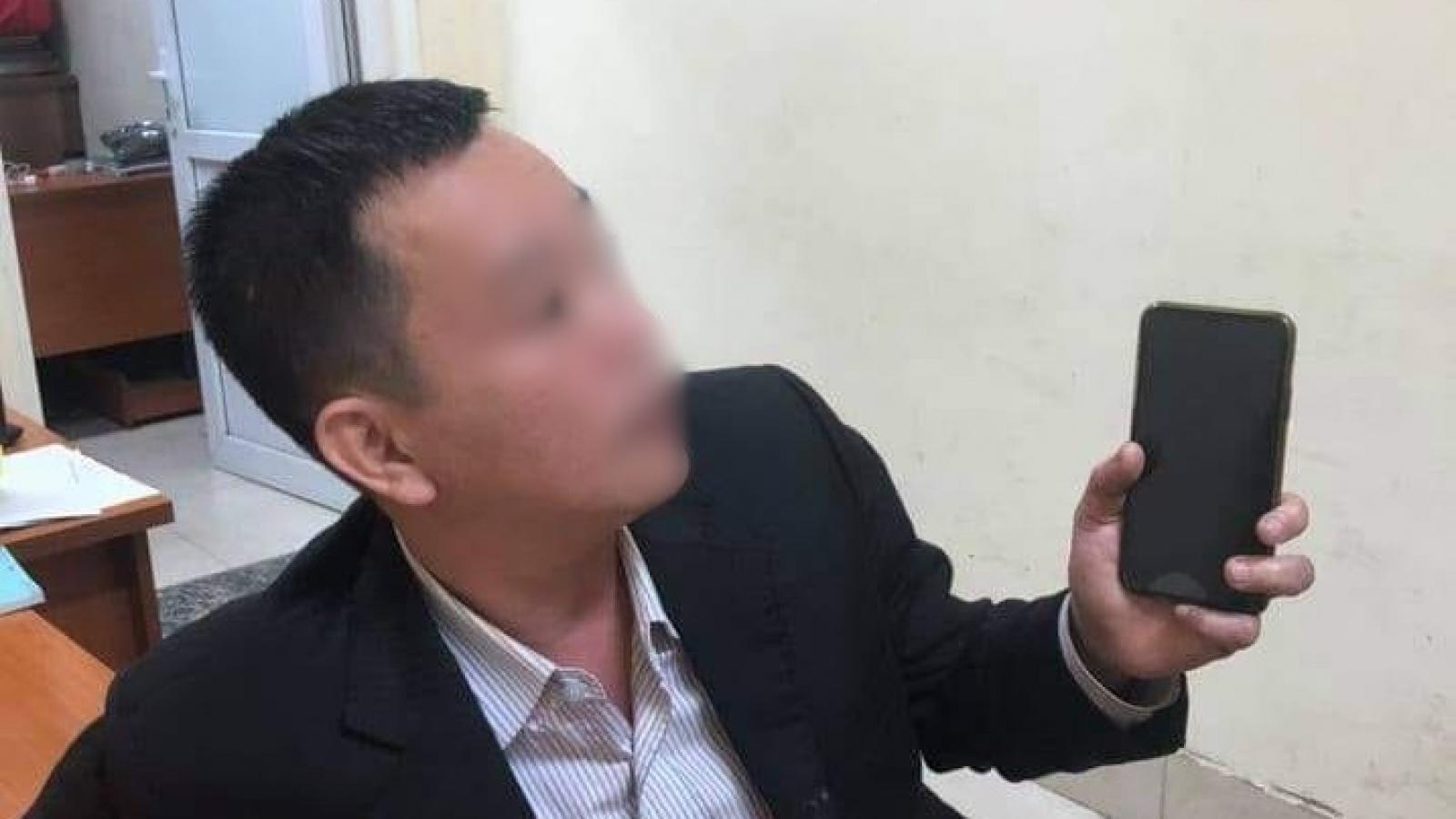 Tài xế xe Camry say xỉn tát CSGT ở Hà Nội là quân nhân