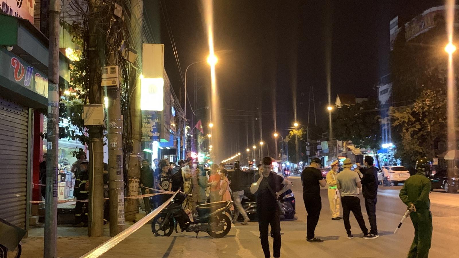 Truy bắt đối tượng nghi nổ mìn tự chế, cướp tiệm vàng ở Hải Phòng
