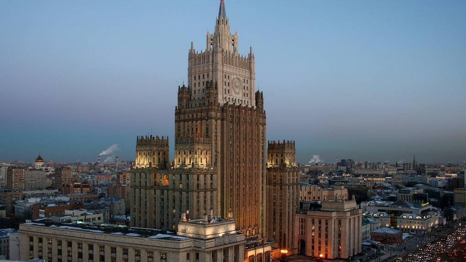 Nga cáo buộc NATO làm biến dạng hệ thống an ninh ở châu Âu