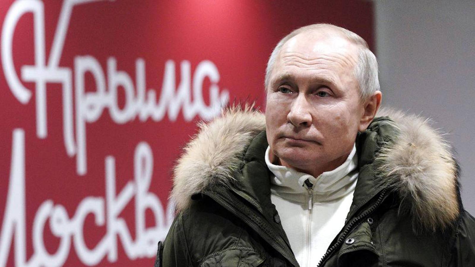 Tổng thống Nga đề nghị Tổng thống Mỹ thảo luận trực tuyến