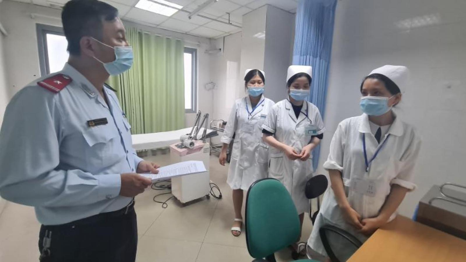 Hà Nội thu hồi giấy phép 1 phòng khám vi phạm về chống dịch COVID-19