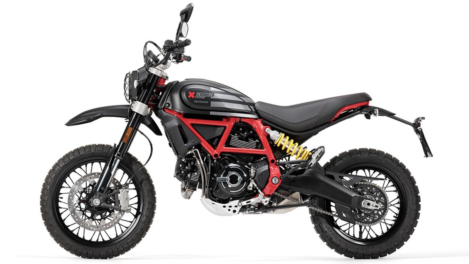 Ducati Scrambler ra bản đặc biệt mừng chiến thắng giải đua Mint 400 Hooligan
