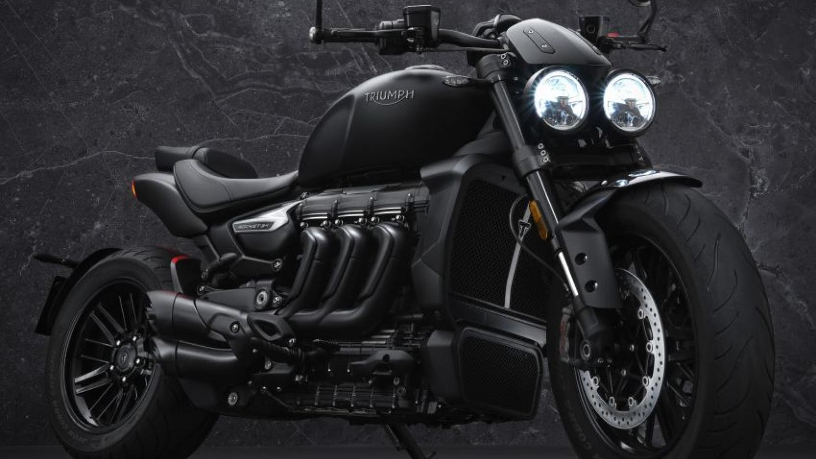 Khám phá Triumph Rocket 3 R Black và Rocket 3 GT Triple Black 2021 bản giới hạn