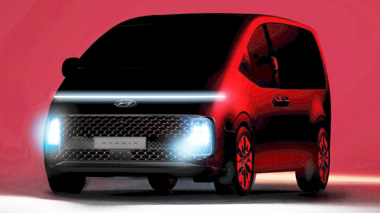 """Chiếc Minivan """"tàu vũ trụ"""" - Hyundai Staria sắp ra mắt"""
