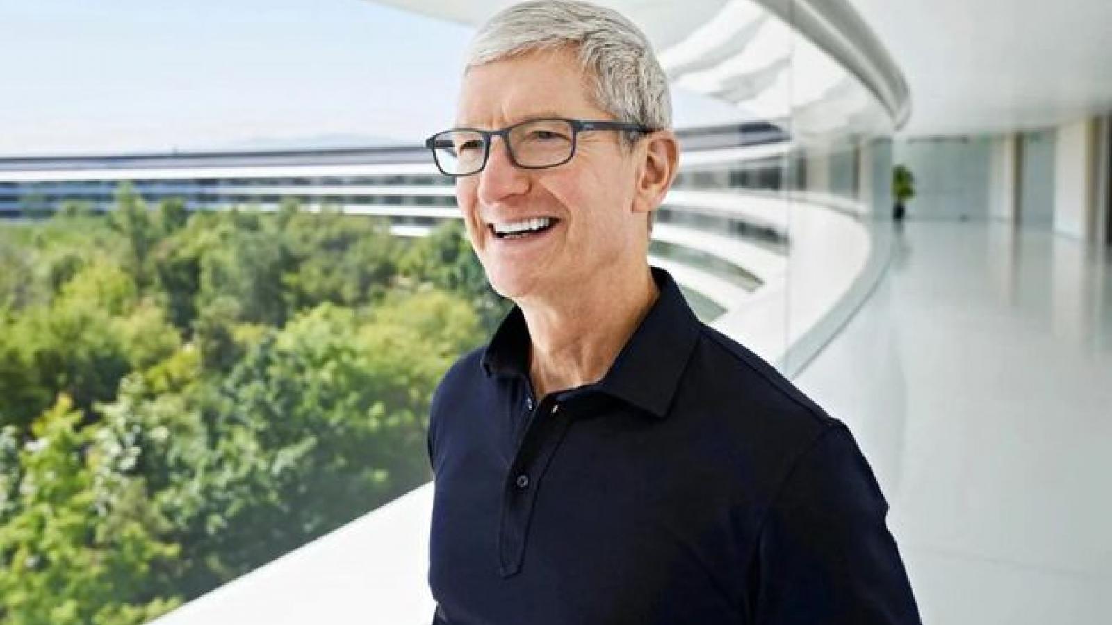 CEO Tim Cook: Apple đang làm tốt trong đại dịch Covid-19