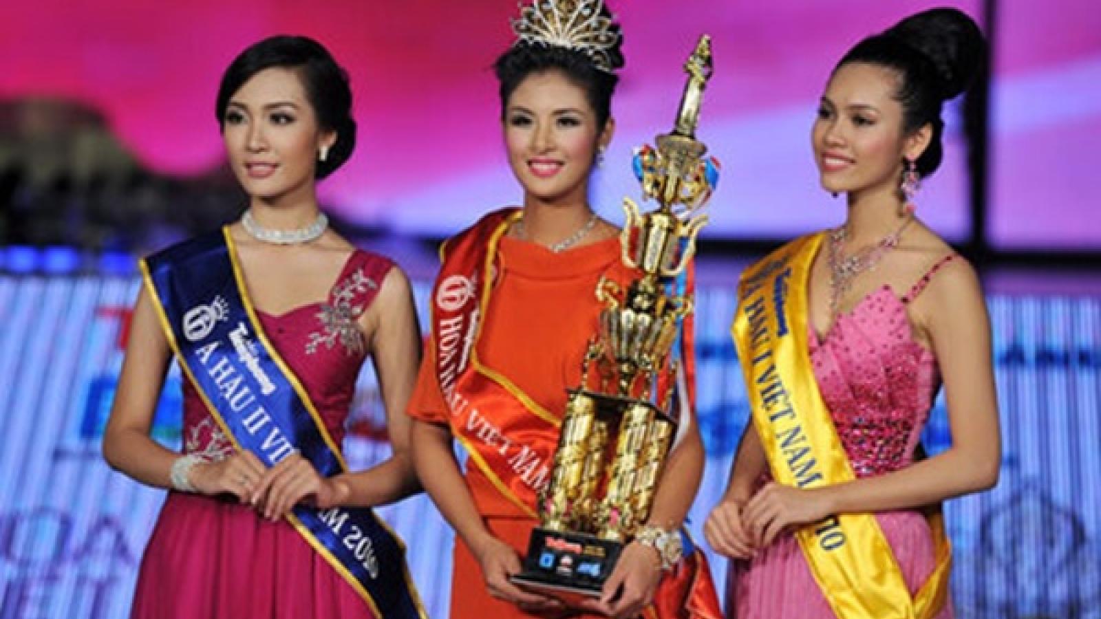Top 3 Hoa hậu Việt Nam 2010: Không mặn mà showbiz, mỗi người hướng đi riêng