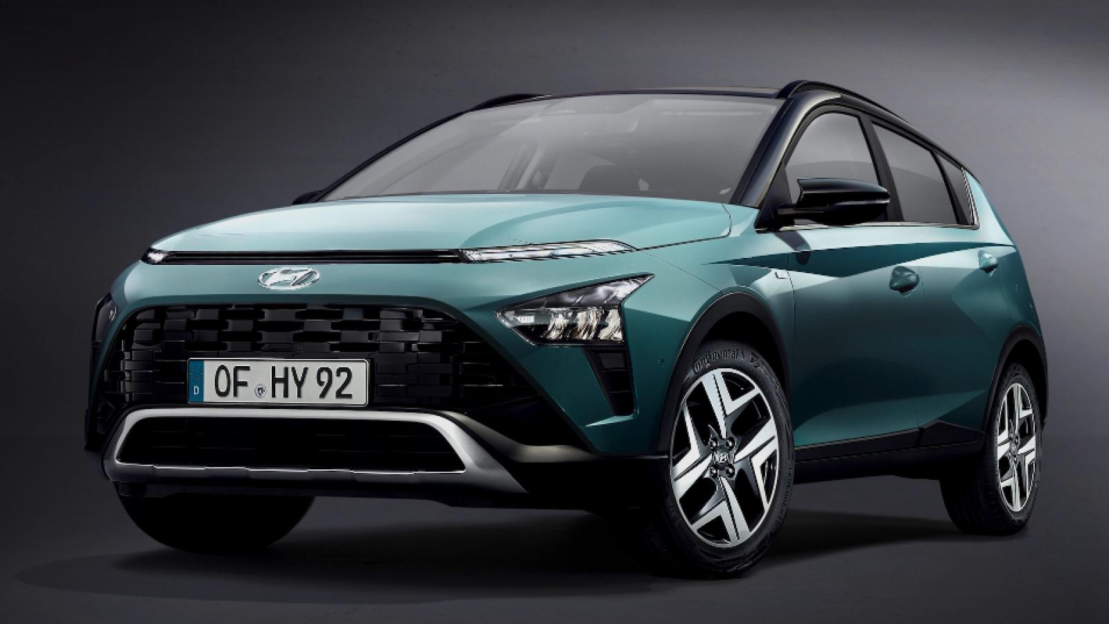 Ảnh chi tiết mẫu SUV đô thị Hyundai Bayon mới
