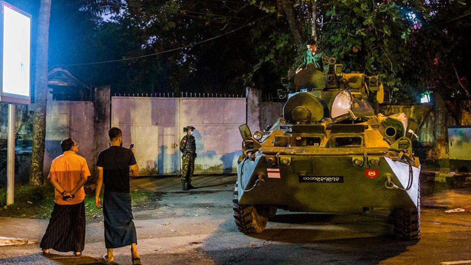 Mạng xã hội chặn các kênh do quân đội Myanmar điều hành