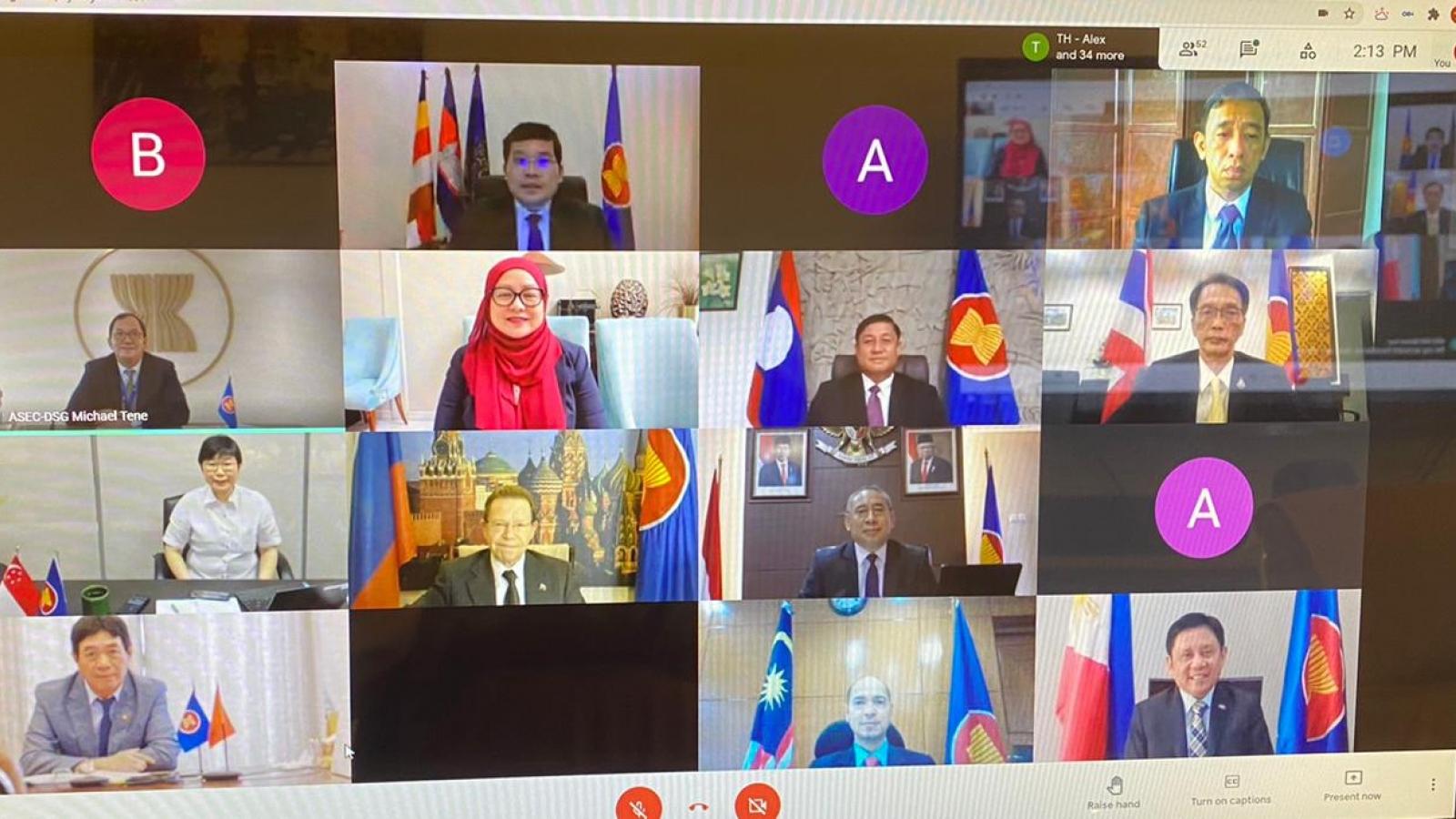 Tăng cườngquan hệ Đối tác Chiến lược ASEAN-Nga trong đại dịch Covid-19