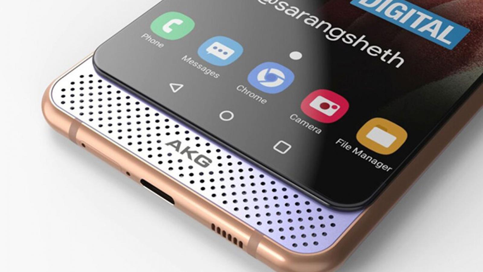 Tròn xoe mắt với thiết kế Galaxy A82 Dual Slider