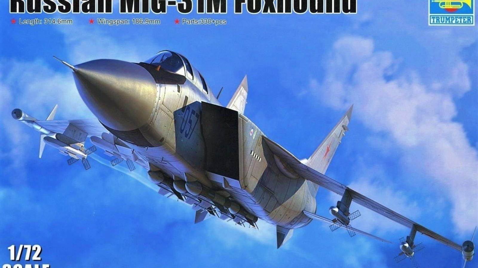 """Tiêm kích đánh chặn MiG-31M: Số phận dang dở nhưng không """"vô bổ"""""""