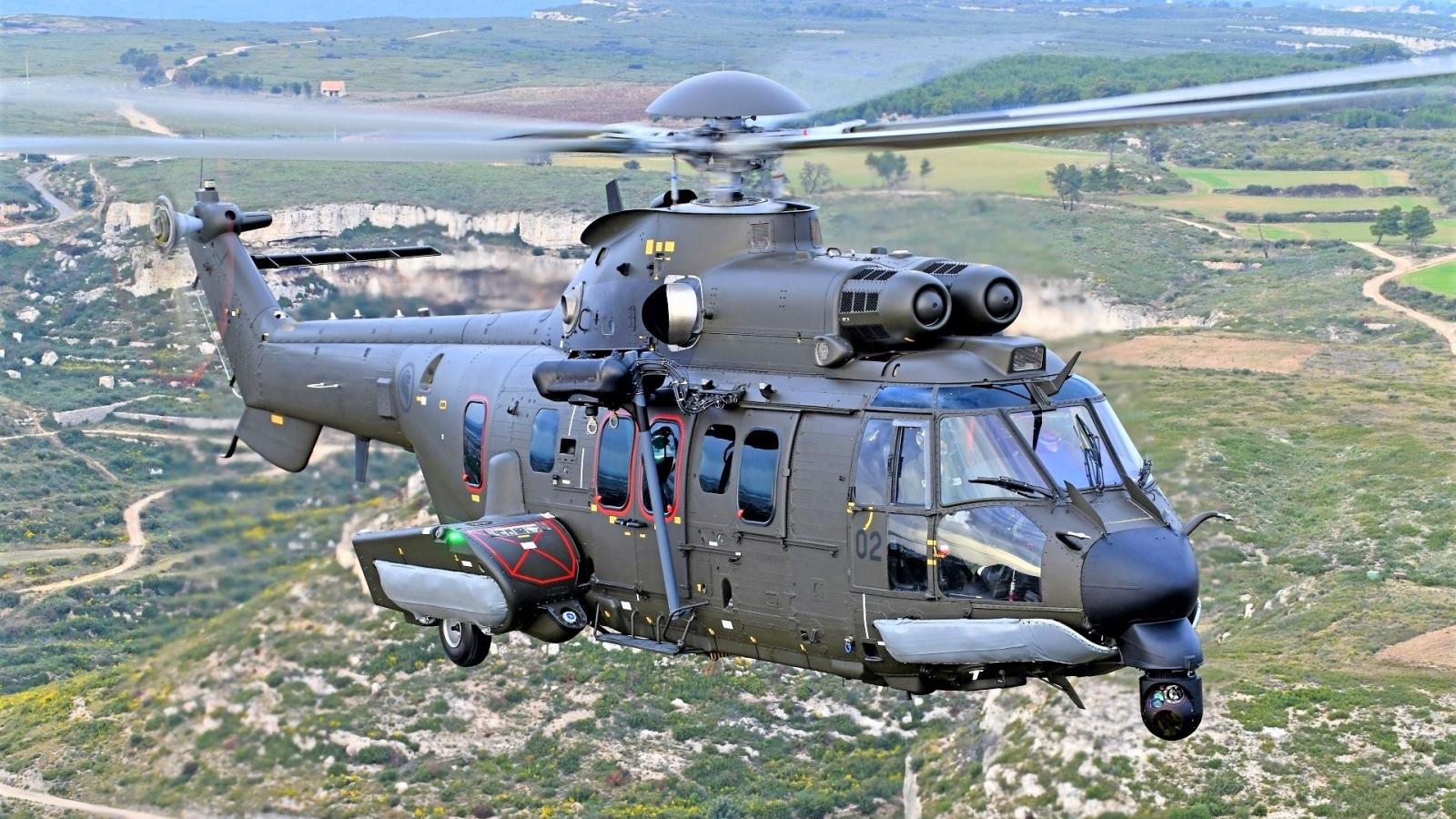 Khám phá trực thăng H225M Singapore mới tậu từ châu Âu