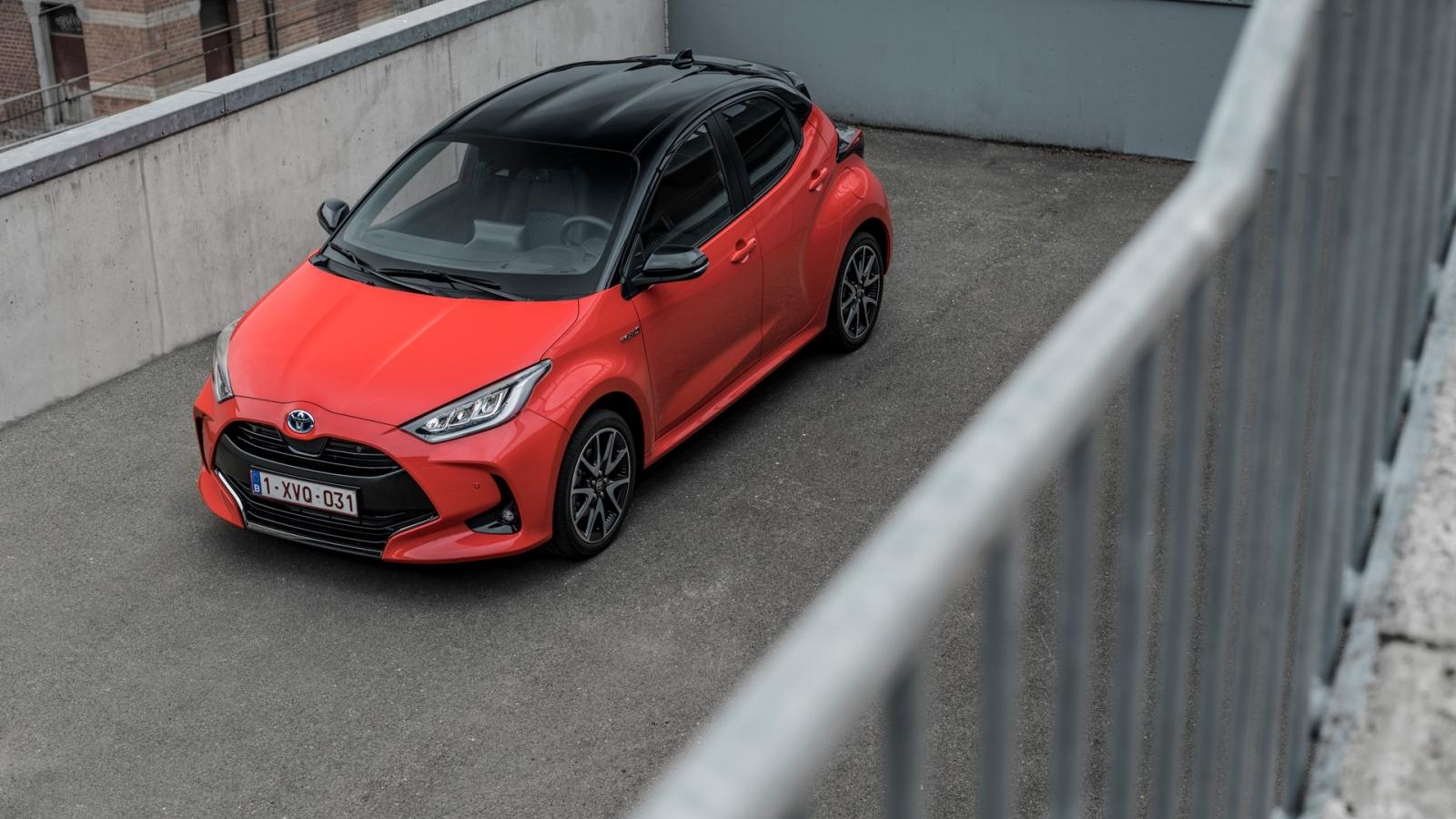 Giải thưởng xe của châu Âu 2021 gọi tên Toyota Yaris