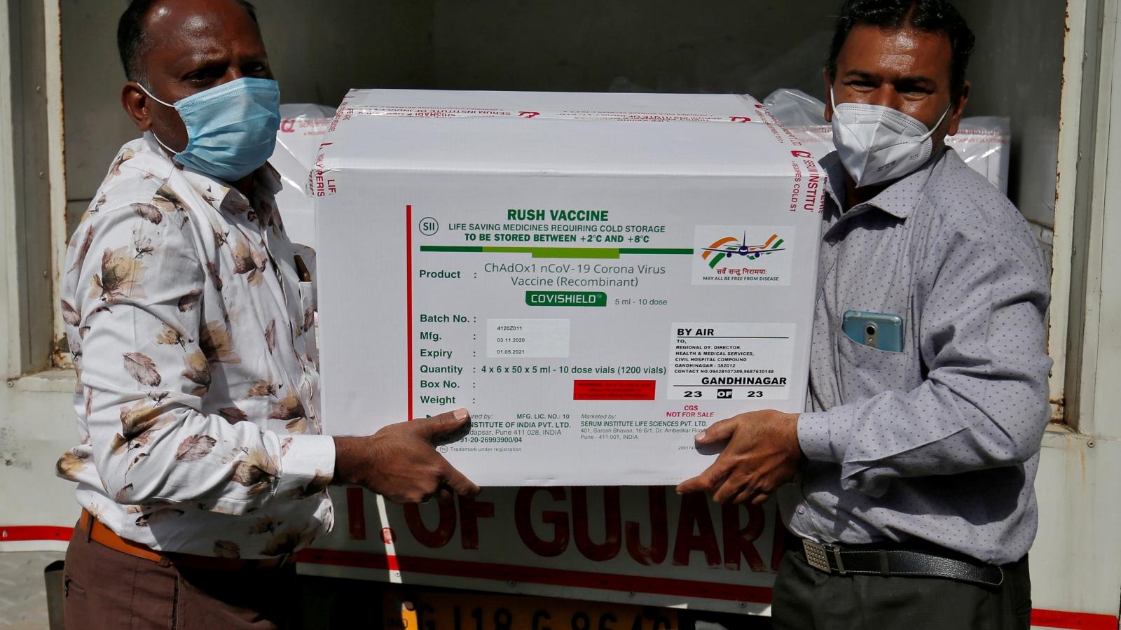 Nhóm Quad sẽ tăng cường sản xuất vaccine tại Ấn Độ, có thể tới 1 tỷ liều trong năm 2022