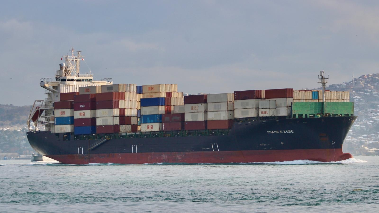 Iran nghi ngờ Israel tiến hành vụ tấn công tàu chở hàng ở Địa Trung Hải