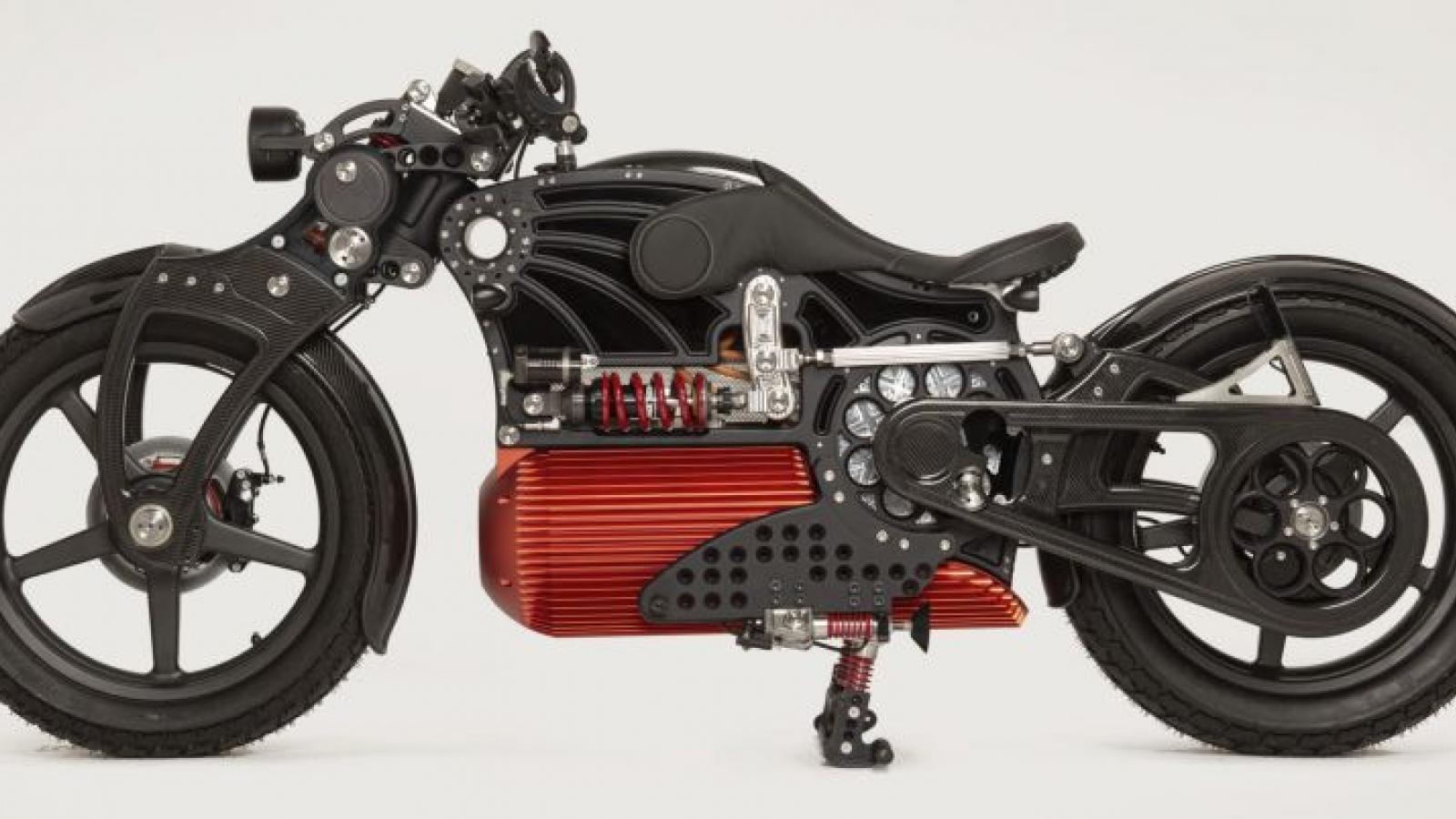 Xe điện Curtiss One 2021