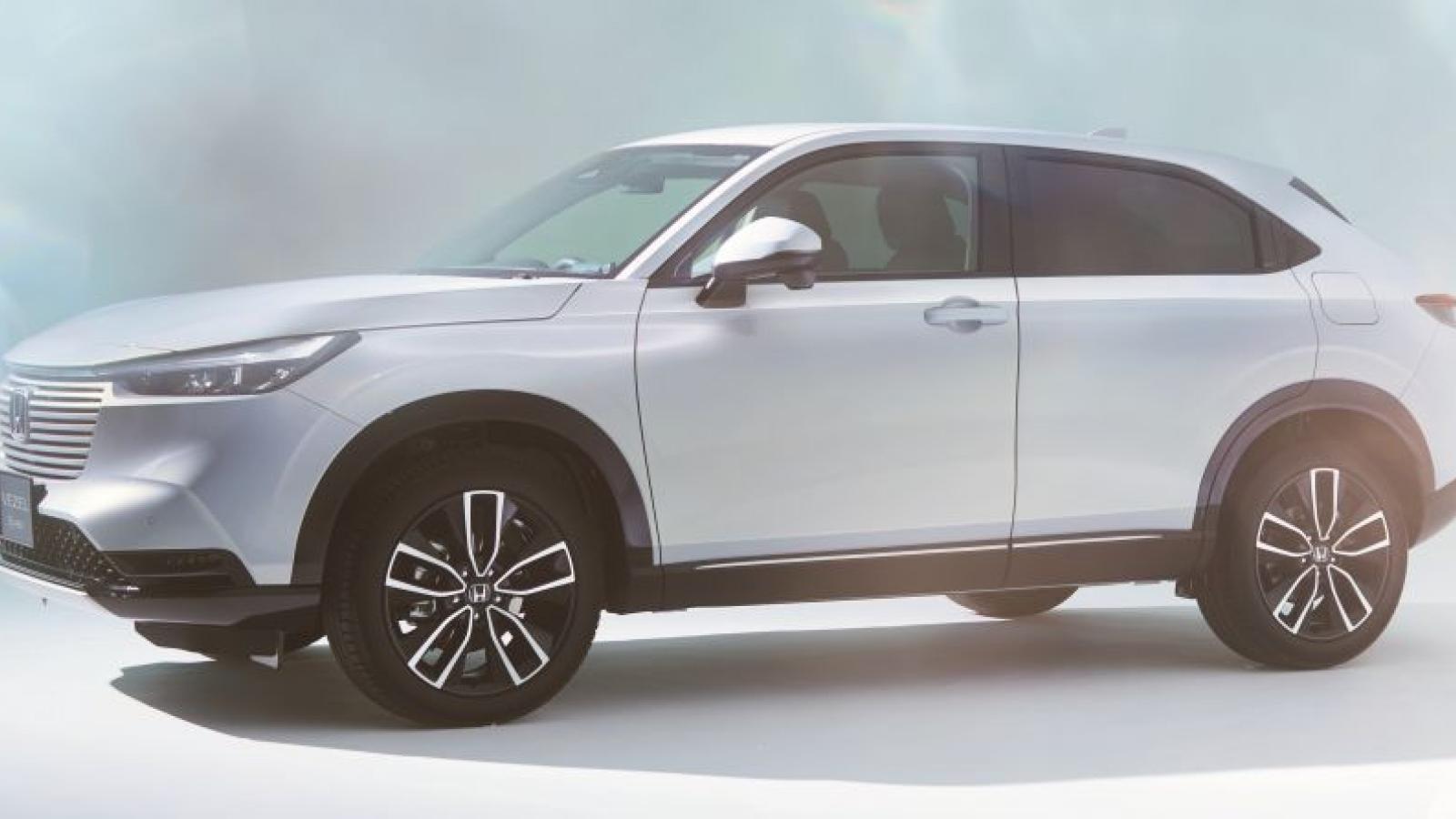 Ảnh chi tiết thiết kế của chiếc Honda HR-V 2022