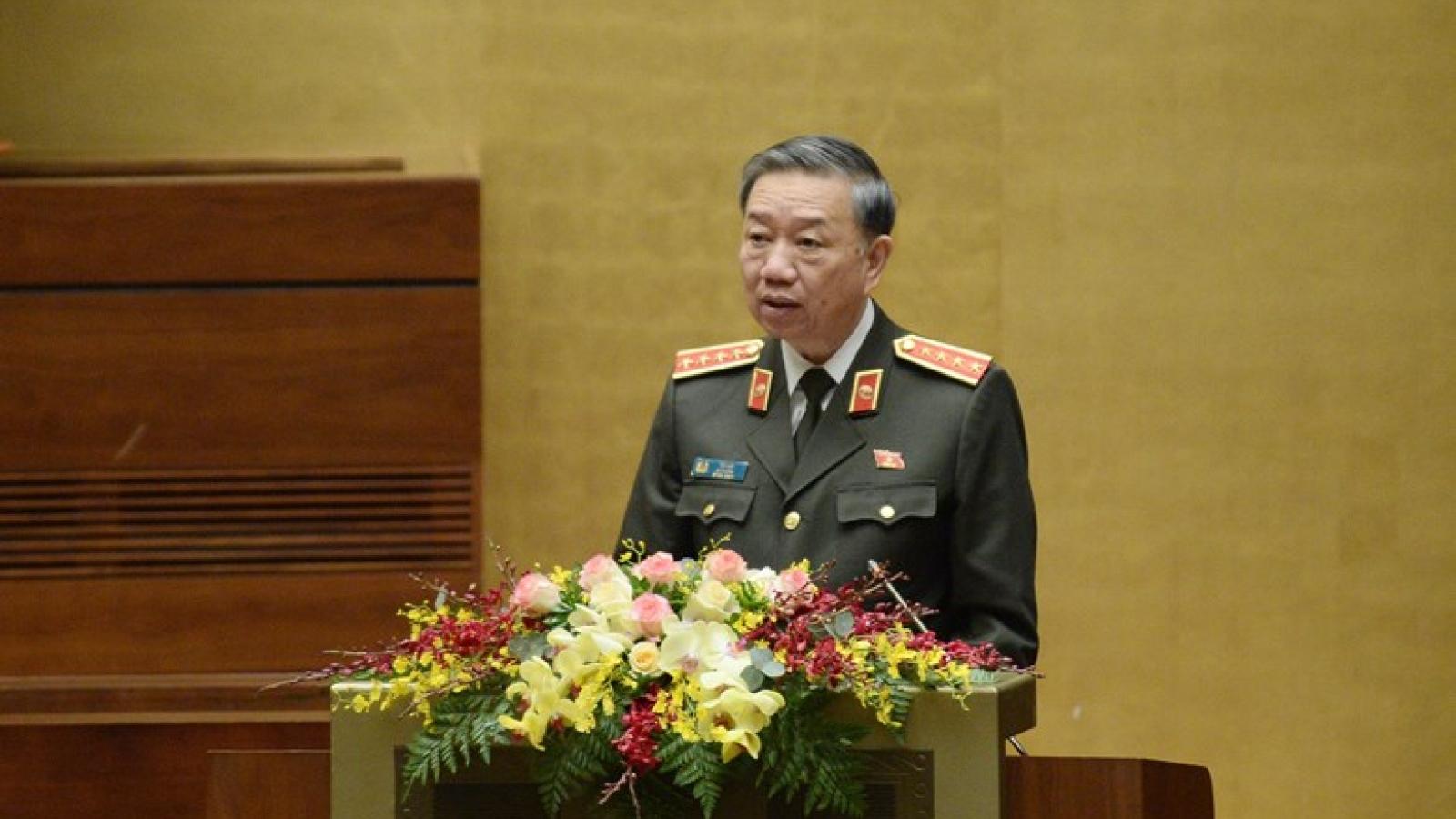 """Bộ trưởng Tô Lâm: """"An ninh con người là trung tâm"""""""