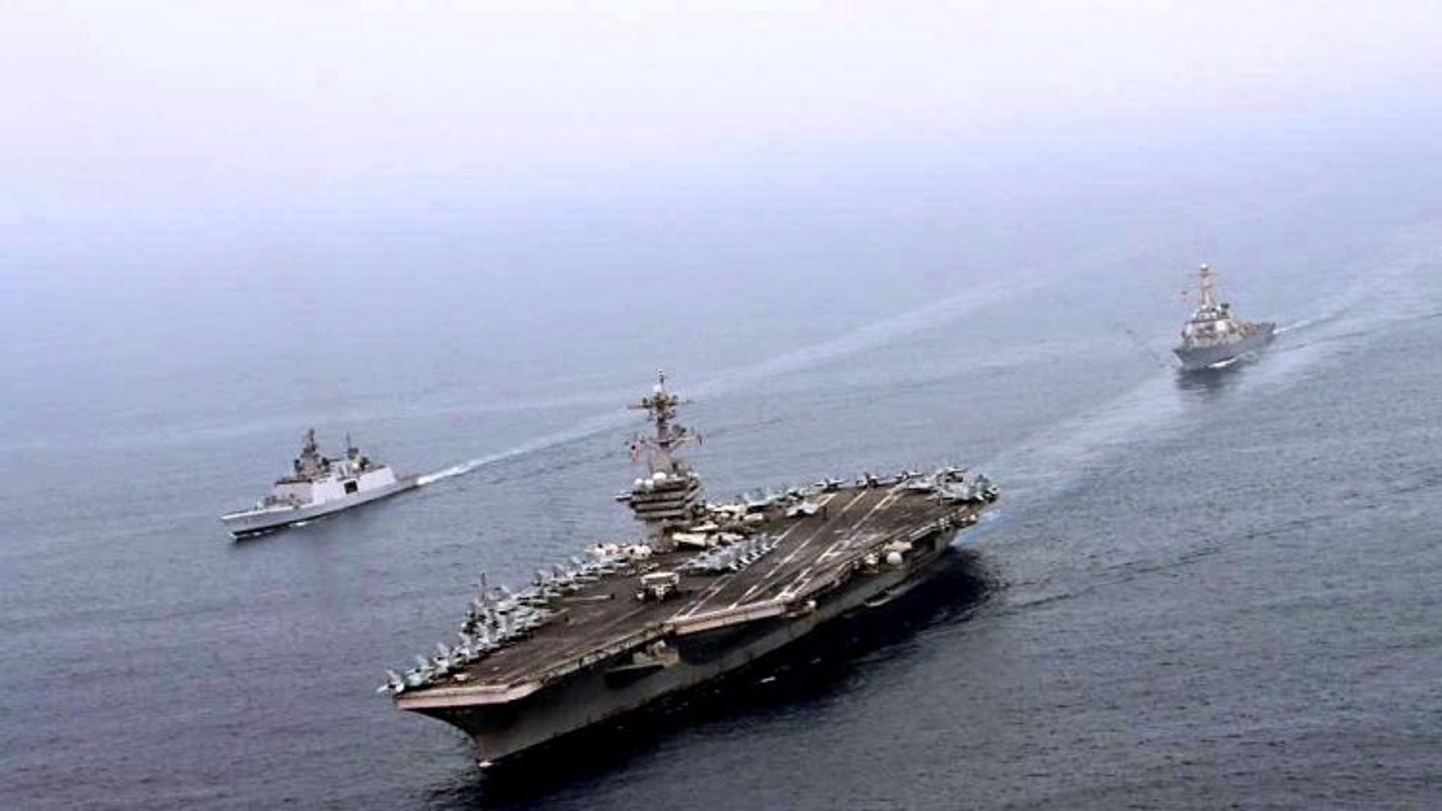 Ấn Độ và Mỹ diễn tập hải quân tại Ấn Độ Dương