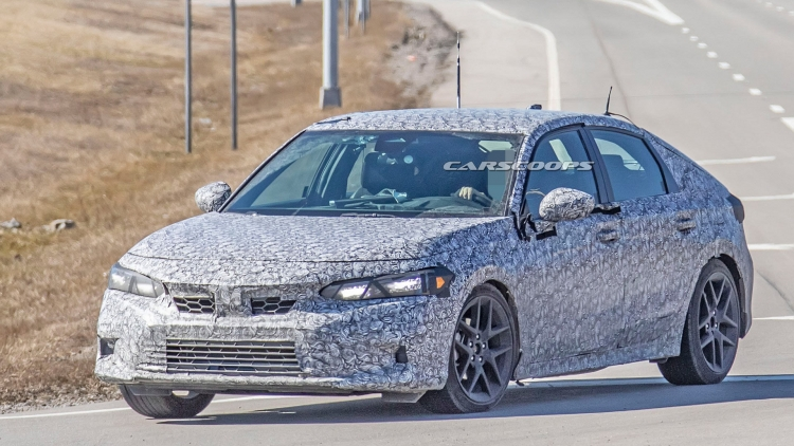 Hình ảnh thực tế của chiếc Honda Civic 2022
