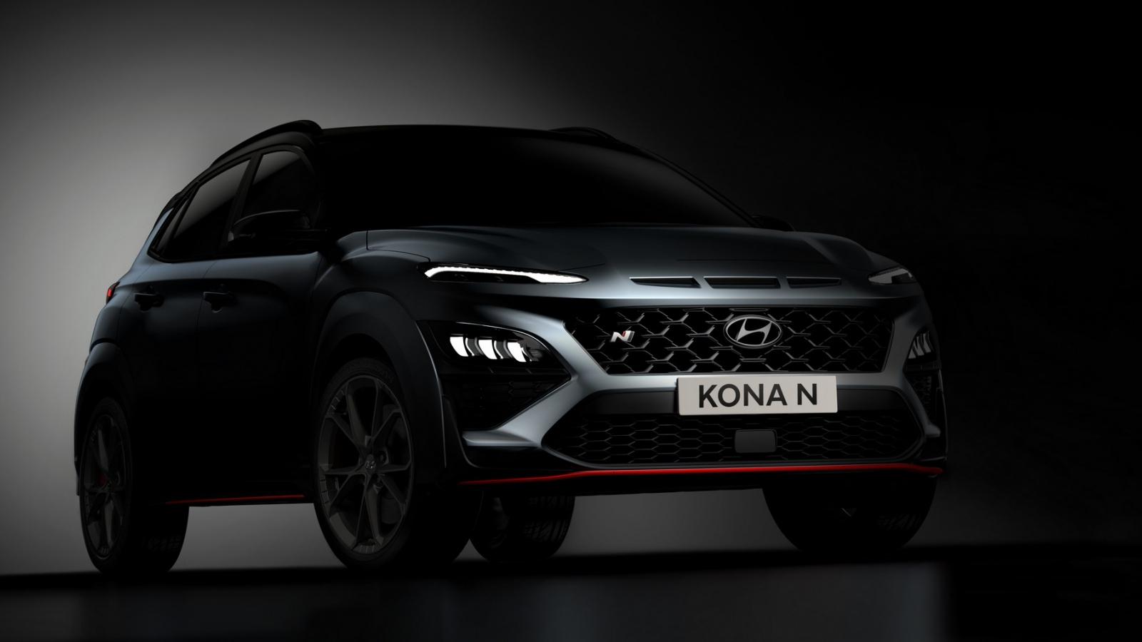 Rò rỉ hình ảnh về chiếc Hyundai Kona N 2022