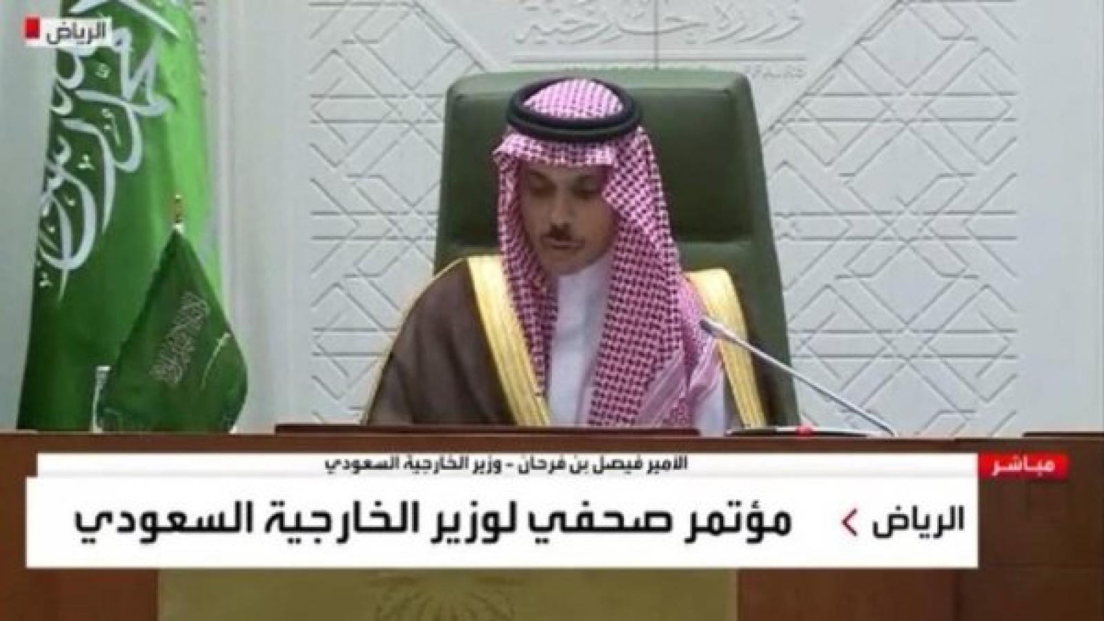 Saudi Arabia công bố sáng kiến chấm dứt xung đột Yemen