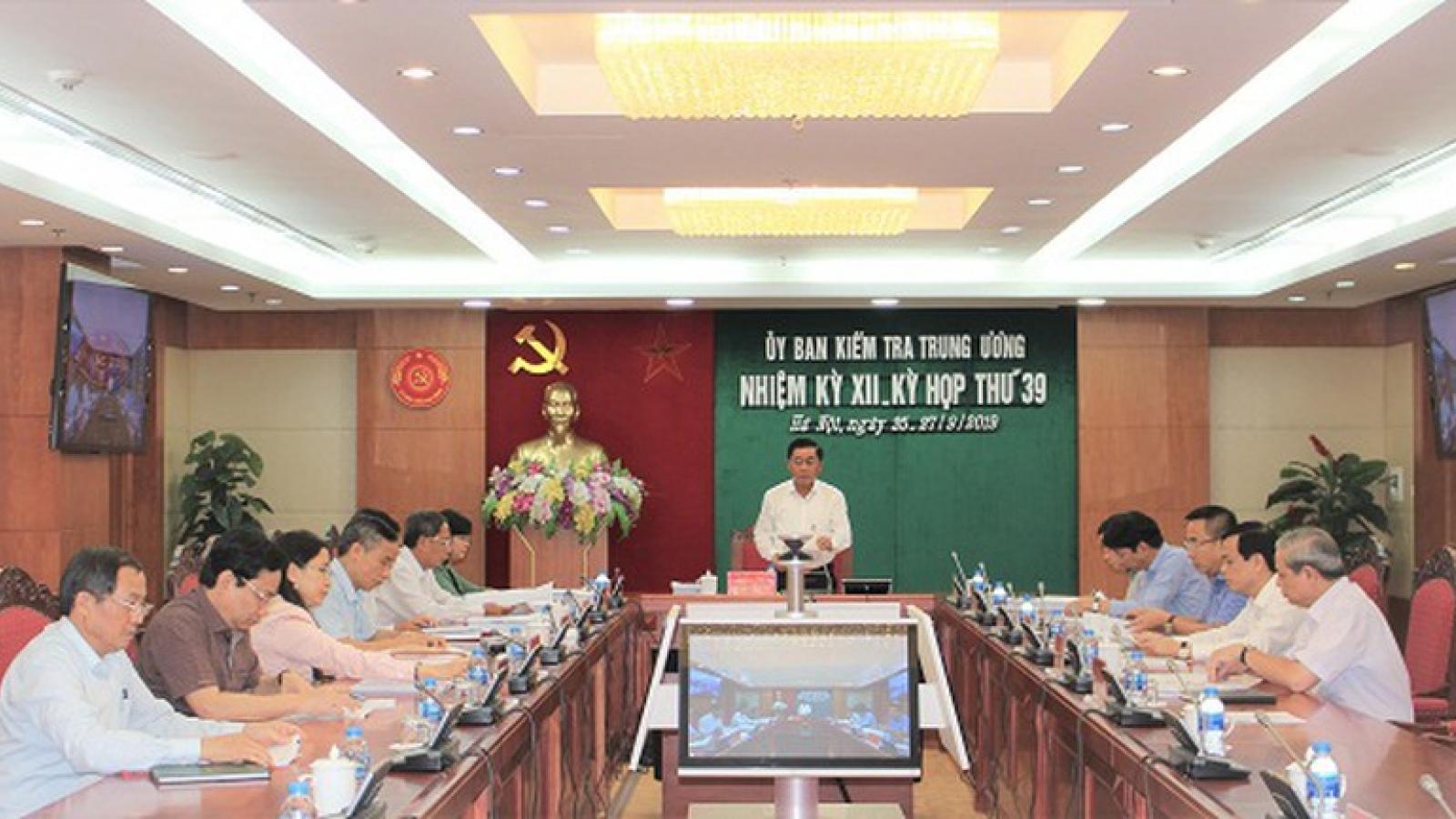 Khánh Hòa kỷ luật 11 cán bộ lãnh đạocác sở, ngành