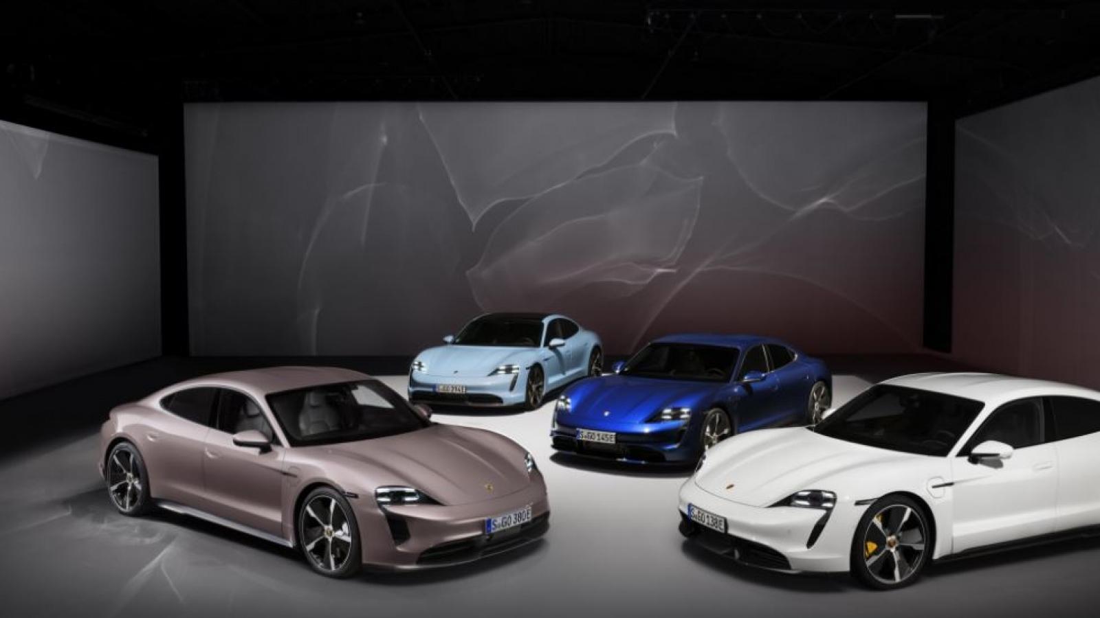 Triệu hồi Porsche Taycan vì nguy cơ lỗi hệ thống treo